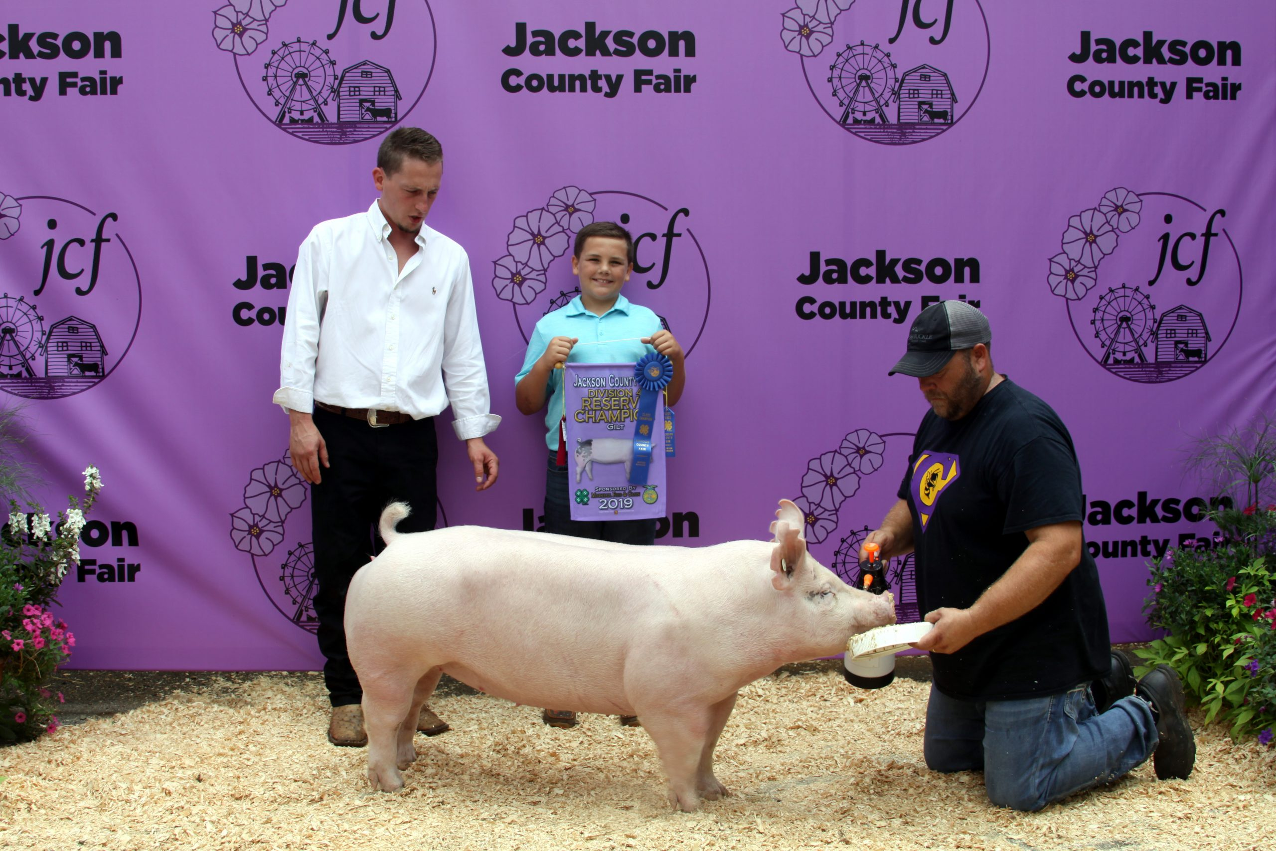 2019 Jackson County Fair, Division 4 Reserve Champion Gilt, Sired by Keg Stand