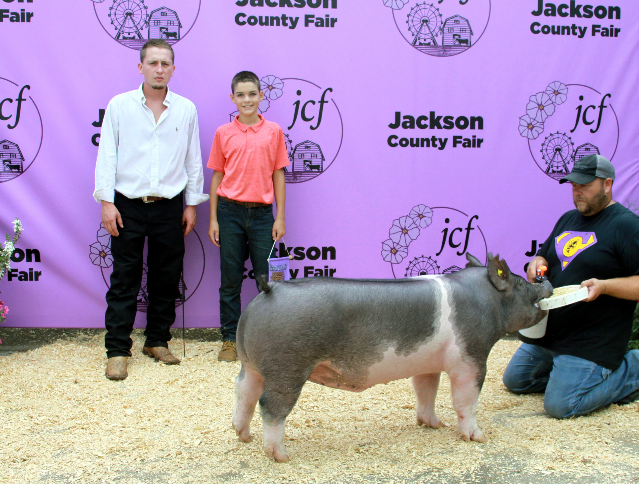 Jackson County Fair, Division 5 Reserve Champion Barrow, Sired by Smooth Criminal